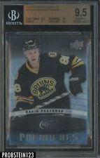 2014-15 Upper Deck Ice #159 David Pastrnak Boston Bruins 41/99 BGS 9.5 w/ 10