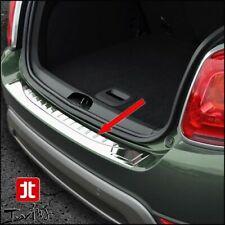 Protezione soglia carico cromata Fiat 500X paraurti battivaligia acciaio cromato
