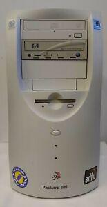 Packard Bell Pentium III 450 3DFX Windows 98 Retro Gaming Desktop PC