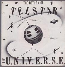 """7"""" the u.n.i.v.e.r.s.e. the return of telstar/Buzz 80`s éoliennes warner"""