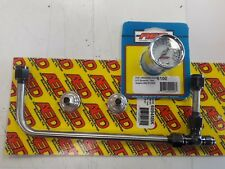 AED Holley Carburetor Stainless Fuel Line Kit Holley 4150 60945BK with AED 6100