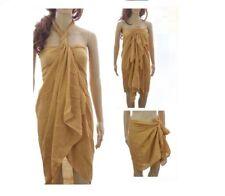 100% Cotton Extra Large Plus Size 200 x 110cm Sarong Beach Pareo Dress Wrap Swim