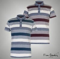 Mens Pierre Cardin Casual Short Sleeves YD Jersey Polo Shirt Top Sizes S-XXXL