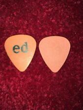 "Pearl Jam Eddie Vedder ""ED name"" guitar pick"