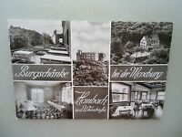 Ansichtskarte Hambach 50er? Gasthaus Burgschänke auch innen