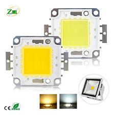 10W-100W LED Cob Chip DC 9-12V/ 28-36V for High Power Bulbs Lamp Floodlight SMD
