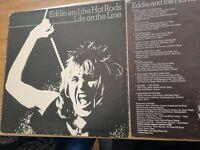 EDDIE AND THE HOT RODS – Life On The Line Original Punk LP Vinyl Album