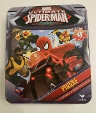 Marvel Ultimate SPIDER-MAN 48 Piece Jigsaw Puzzle & Collector's Tin (NIP)