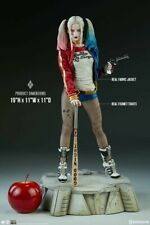 SIDESHOW HARLEY QUINN SUICIDE SQUAD PF EXCL.  NEW IN FACTORY SEALED SHIPPER BOX