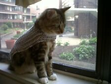 Medieval Chain-mail Armor For Cats and Dogs Battle Ready Pet Free Shipping
