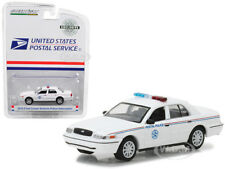 2010 FORD CROWN VICTORIA POLICE USPS 1/64 DIECAST MODEL BY GREENLIGHT 29891
