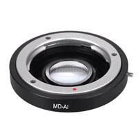 Lens Adapter Ring Mount for Minolta MD MC to Nikon AI F D7200 D800 D700 D300 D90