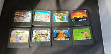 8 x Cart Only Sega Game Gear Games inc Sonic 2 Lion King Chuck Rock