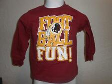New-Flaw Washington Redskins Enfants TAILLE S Manches Longues Chemise