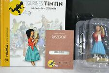 FIGURINE SERIE TINTIN N°91 MIARKA  LA PETITE BOHEMIENNE