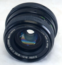 Pentax K 28mm f/2.8 Vintage SIGMA mini-wide MC Lens Japan