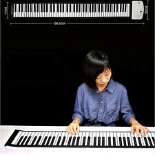 88keys Synthesizer Electronic Soft Flexible Silicone Keyboard Hand-rolling Piano