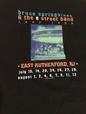 Bruce Springsteen 1999 Concert T Shirt Never Worn East Rutherford, NJ