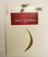 Hanes Silk Reflections Sheer Toe Pantyhose, Style 715 Size AB Taupe