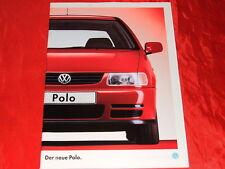 VW Polo 45 55 75 Servo Interlagos Prospekt + Preisliste von 1994