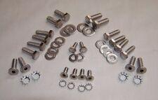 Early bronco tailgate hardware kit, stainless   PN EBTGHWR