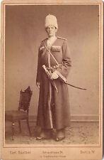 CAB photo Tscherkesse mit Säbel und Dolch - Berlin 1880er