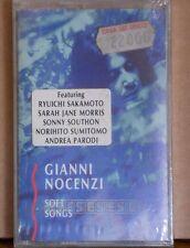 GIANNI NOCENZI - SOFT SONGS - MC - R.SAKAMOTO-A.PARODI-S.J.MORRIS-SOUTHON- E.S.
