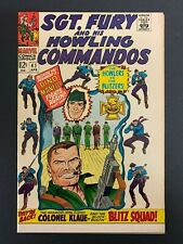 SGT. FURY and HIS HOWLING COMMANDOS #41 *HIGH GRADE!* (Marvel, 1967)  MUST-SEE!!