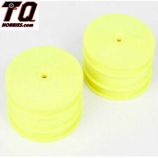 LOSI TLR43004 Front Wheel Yellow (2) 22-4 New in Pack Fast Ship wTrack#