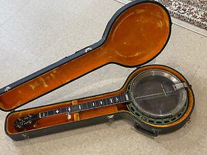 Vintage Rare Early 70s String Gibson Mastertone Banjo w/Hard Case Kalamazoo US