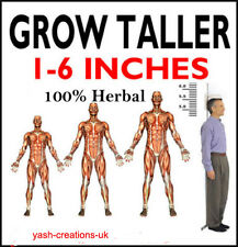 Long Looks Herbal Increase Height Gain Taller  240 Capsules (Complete Course)