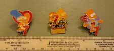 Genuine Vintage Simpsons Calgary Badge Set 1990s