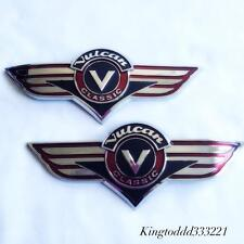 Motorcycle Gas Tank Emblem Badge Decal For Kawasaki Vulcan VN Classic All Years