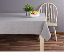 100 Percent Cotton Tablecloth Long NEW 52 in X 70 Toffee Sticky Housewarmin