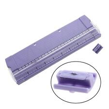 Popular Plastic Multipurpose Rolling Manual Paper Cutter Trimmer Ruler Trim Tool