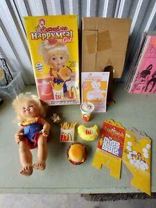 Vintage McDonald Land McDonald's Happy Meal Girl Doll 1997 Hasbro Vintage Toy