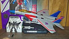 Transformers G1 Masterpiece Starscream Toys R Us TRU MP-07 Complete + Box MIB