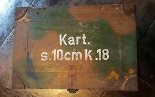 caisse munition allemande camouflage Normandie bois ww2 falaise