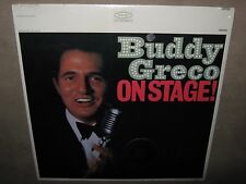 BUDDY GRECO On Stage! RARE SEALED NM New Vinyl LP CSRP 26116 NoCut Special RE: