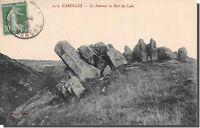CPA-50- Carolles le sommet du port du lude