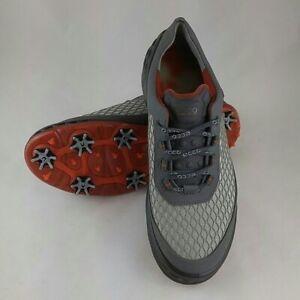ECCO Men's CAGE Sport (Grey/Orange, Size 40 EU/6-6.5 M US) 13251450084
