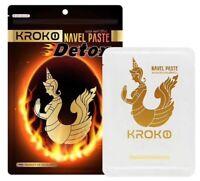 KROKO Herbal Navel Paste Detox Fast Burn Helps Metabolism& Control Weight 5pcs