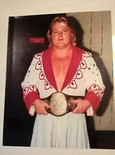 Greg Valentine 8x10 posed shot from early-1980s NWA WWE