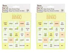 BABY SHOWER BINGO - For Baby Shower Games - for 48 players