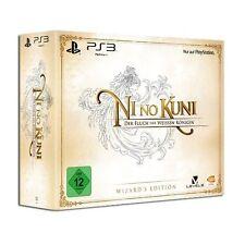 Ps3-PlayStation ► ni no Kuni: la maldición de la Reina Blanca-Wizard 's Edition