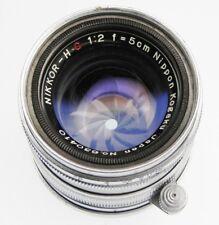 Nikkor 5cm f2 Leica SM  #630410