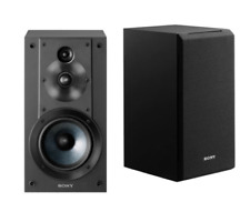 Sony SS-CS5 100-Watt Bookshelf Speaker - Pair - Black