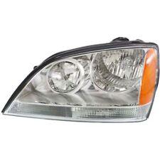 For Sorento 03-04, Driver Side Headlight, Clear Lens