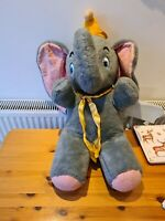 "Huge Vintage 60-70s Walt Disney 28"" Dumbo Elephant Plush California Stuffed Toys"