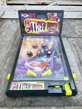 Vtg 90's Street Fighter Lcd Tabletop Pinball Toy - Collectible Retro Arcade Game